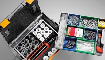 Werkzeugkoffern - Koffer für Kleinteile aus Kunststoff und Metal