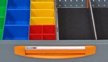 Divider System - Divisori per valigette furgoni