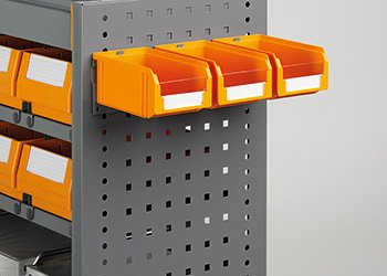 Supporto con 3 contenitori misura 1 PL