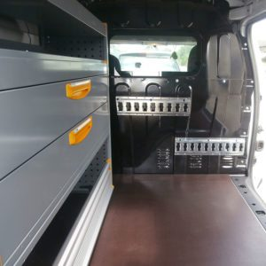 Allestimenti furgoni per Dacia Dokker