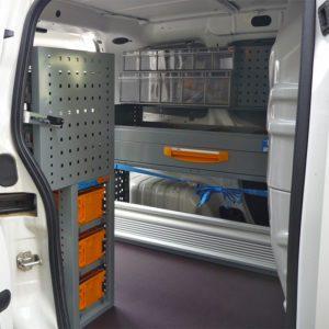 Allestimenti furgoni per Peugeot Bipper