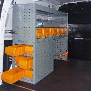 Allestimenti furgoni per Renault Kangoo