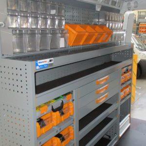 Allestimento furgoni per Iveco Daily