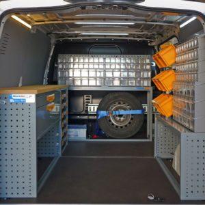 Allestimento furgoni per Mercedes-Benz Vito