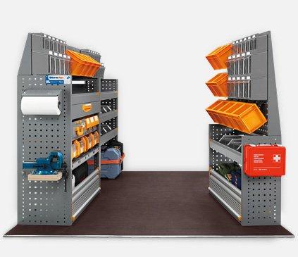 Equipamiento furgonetas - Store Van