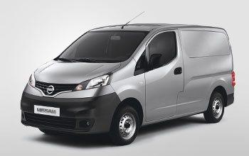 Van equipments Nissan NV200