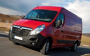 Aménagement fourgons Opel Movano