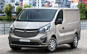 Van equipment Opel Vivaro