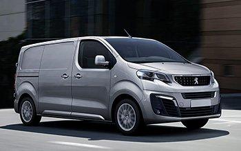 Equipamiento furgonetas Peugeot Expert 2016