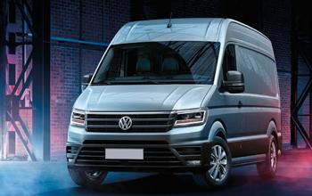Equipamientos furgonetas Volkswagen Crafter 2017