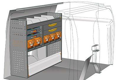 Example van equipment Connect CN 1210 01