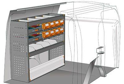 Example van equipment Connect CN 1210 02