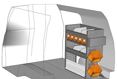 Example van equipment Caddy CA-0709-03