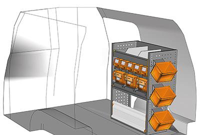 Example van equipment Caddy CA-0709-05