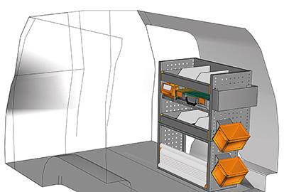 Example van equipment Caddy CA-0709-06