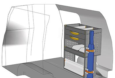 Example van equipment Caddy CA-0709-08