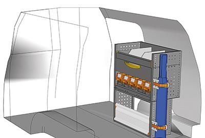 Example van equipment Caddy CA-0709-09