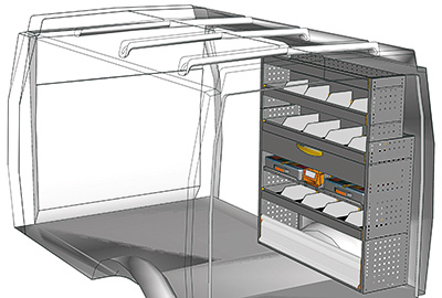 Example van equipment Daily DA 1214 06