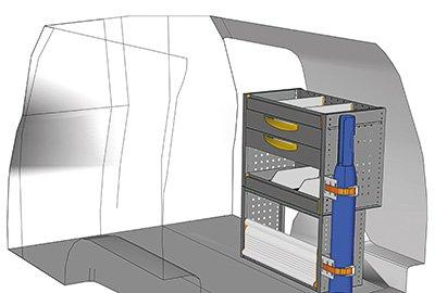 Fahrzeugeinrichtungen für Caddy CA-0709-08
