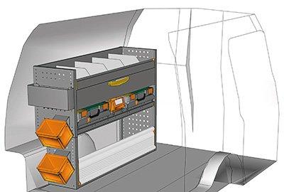 Fahrzeugeinrichtungen für Caddy CA-1209-09