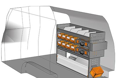 Fahrzeugeinrichtungen für Caddy CA-1209-22