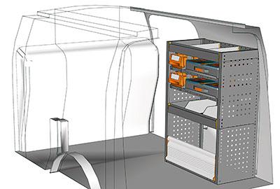 Fahrzeugeinrichtungen für Connect CN 0710 01
