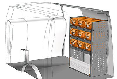 Fahrzeugeinrichtungen für Connect CN 0710 04