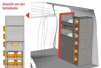 Fahrzeugeinrichtungen für Connect CN 0710 06
