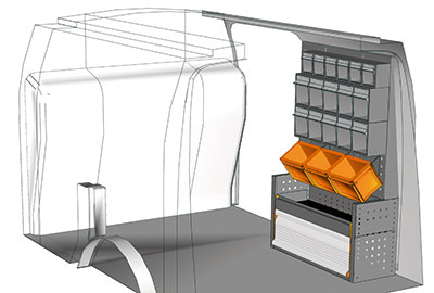 Fahrzeugeinrichtungen für Connect CN 0711 01