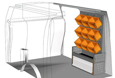 Fahrzeugeinrichtungen für Connect CN 0711 02