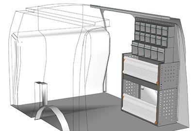 Fahrzeugeinrichtungen für Connect CN 0710 03