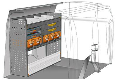 Fahrzeugeinrichtungen für Connect CN 1210 01