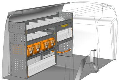 Fahrzeugeinrichtungen für Connect CN 1710 02