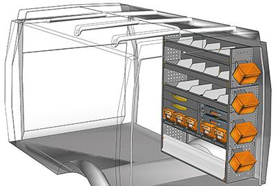Fahrzeugeinrichtungen für Daily DA 1214 02