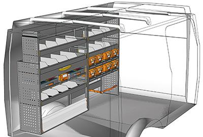 Fahrzeugeinrichtungen für Iveco Daily DA 2214 02