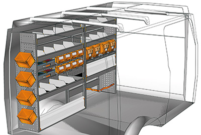 Fahrzeugeinrichtungen für Iveco Daily DA 2214 09