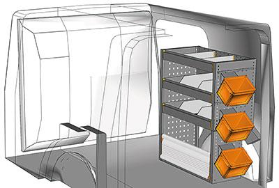 Fahrzeugeinrichtungen für Citan KA 0709 02