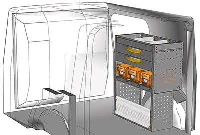 Fahrzeugeinrichtungen für Kangoo KA 0709 03