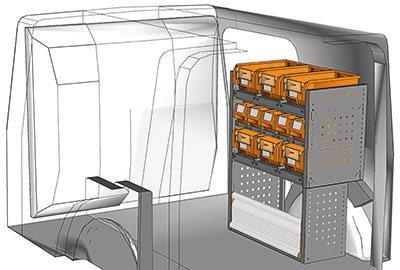 Fahrzeugeinrichtungen für Kangoo KA 0709 04