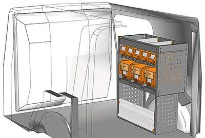 Fahrzeugeinrichtungen für Kangoo KA 0709 05