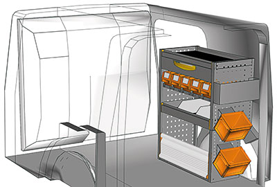 Fahrzeugeinrichtungen für Citan KA 0709 06