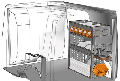 Fahrzeugeinrichtungen für Citan KA 0709 09