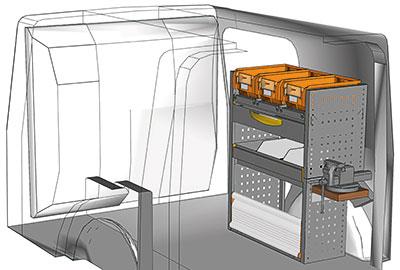 Fahrzeugeinrichtungen für Citan KA 0709 10