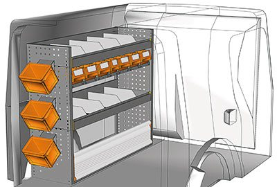 Fahrzeugeinrichtungen für Kangoo KA 1210 03