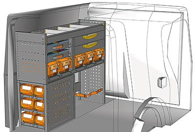 Fahrzeugeinrichtungen für Citan KA 1210 05