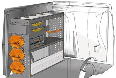 Fahrzeugeinrichtungen für Citan KA 1210 07