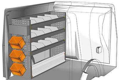Fahrzeugeinrichtungen für Citan KA 1210 09