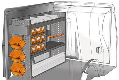 Fahrzeugeinrichtungen für Citan KA 1210 10