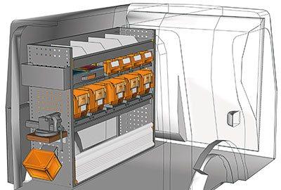 Fahrzeugeinrichtungen für Citan KA 1210 11