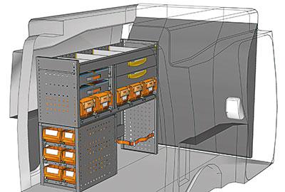 Fahrzeugeinrichtungen für Partner PA 1210 05